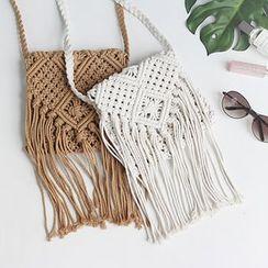 iswas - Fringed Shoulder Bag