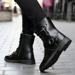 Signore - Lace-Up Short Boots