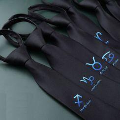 Prodigy - 星座印花领带