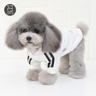 Pettrip - 條紋連帽寵物上衣