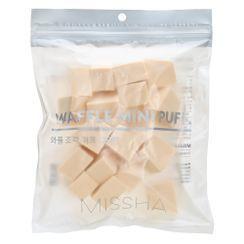 MISSHA - Waffle Mini Puff 20pcs