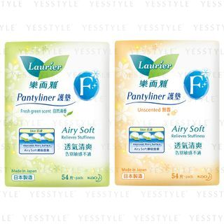 Kao - Laurier F Pantyliner 54 pcs - 2 Types