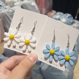 Kokyu - Acrylic Flower Drop Earring
