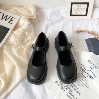 Stevvi - Block Heel Mary Jane Shoes