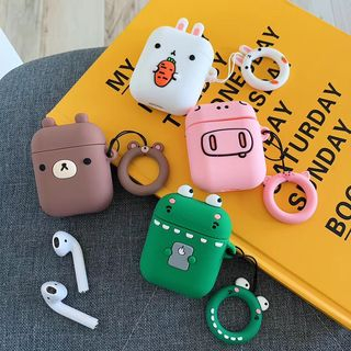 Vachie - Silicone Animal AirPods Earphone Case Cover