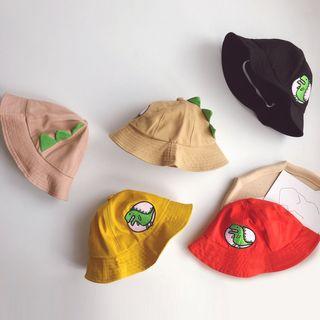 Skylit - 小童恐龍貼布繡漁夫帽