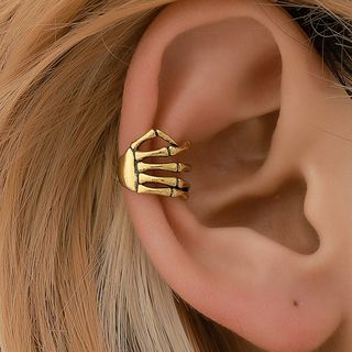Cheermo - Skeletal Hand Ear Cuff