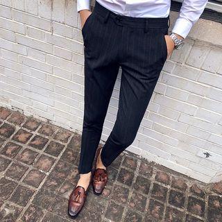 Besto - Striped Dress Pants