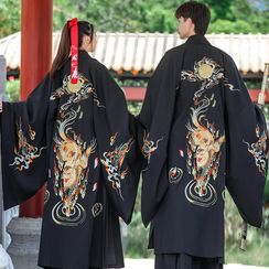 Tangier - Couple Matching Lion Embroidered Traditional Chinese Costume
