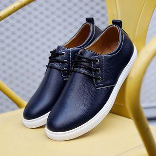 Taragan - Faux Leather Sneakers