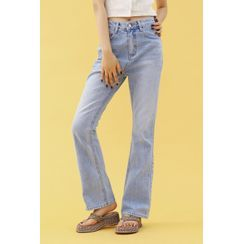 SIMPLY MOOD - High-Rise Boot-Cut Jeans
