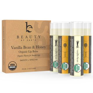 Beauty by Earth - Vanilla Bean & Honey Organic Lip Balm
