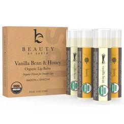 Beauty by Earth - Vanilla Bean & Honey Organic Lip Balm