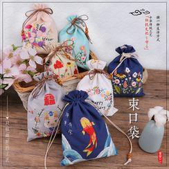 Anffleur - 刺繡抽繩小袋DIY工具