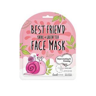 lookATME - Best Friend Snail + Green Tea Face Mask