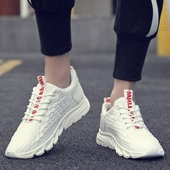 Chaoqi - Mermaid Scale Knit Sneakers