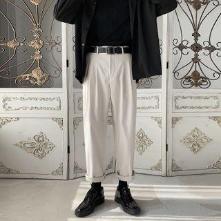 Obikan - Plain Dress Pants