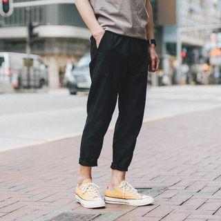 Soulcity - Plain Slim Fit Pants