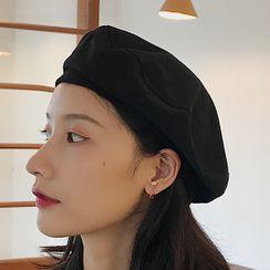 Pompabee - 純色貝雷帽