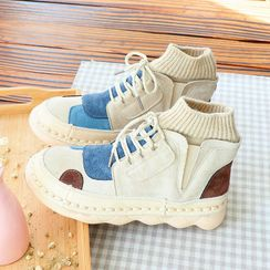 Daminsky - Patch Work Short Boots