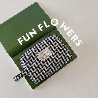 wallFLOWERz - 千鸟格 / 格纹化妆包