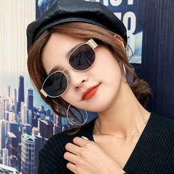 MOL Girl - 椭圆形太阳眼镜