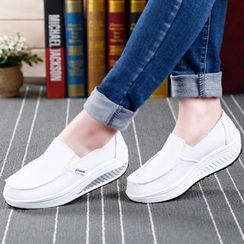 MINIKA - Canvas Slip-Ons