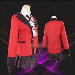 Mikasa - Student Uniform Cosplay Costume Set