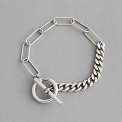 Phoenoa(フェノア) - 925 Sterling Silver Chain Bracelet