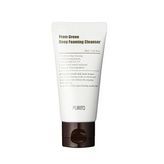 PURITO - From Green Deep Foaming Cleanser Mini
