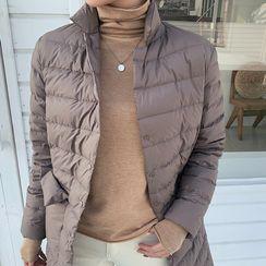 DANI LOVE - Collar-Detail Lightweight Padded Jacket