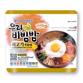 Easybab - Korean Bibimbap Beef Flavor 100g