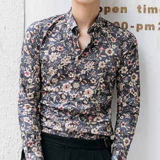 Orizzon - Flower Print Shirt