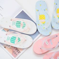 Chaga - Printed Flip-flops