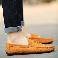 Chariot - Paneled Moccasins