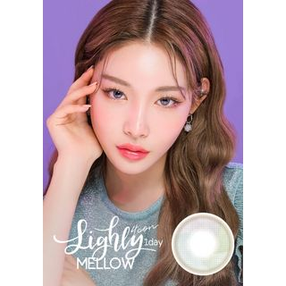 LENS TOWN - Lighly Mellow 1-Day Color Lens #Gray