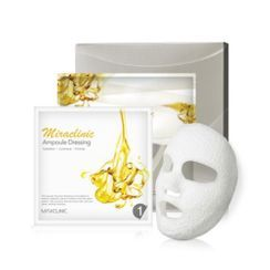 魅可力 - Miraclinic Plaster Corset Mask Set: Ampoule Dressing 36ml x 4pcs + Contouring Object 16ml x 4pcs