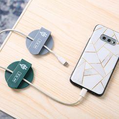 Micy - 套装: 黏贴手机固线器