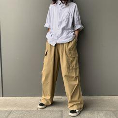 Sevilla - Wide-Leg Cargo Pants