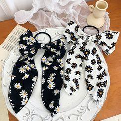 Pompabee(ポンパビー) - Daisy Print Bow Hair Tie