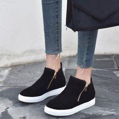 Shoesun - Platform Ankle Boots