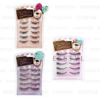 LUCKY TRENDY - Dream Girl Brown & Black Eyelash 5 pairs - 3 Types