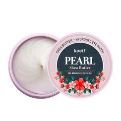 PETITFEE - Parche de ojos koelf Pearl & Shea Butter Eye Patch 60 unidades