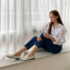 MONOBARBI - Plain Loafers (2 Designs)