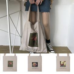 TangTangBags - 印花帆布手提袋
