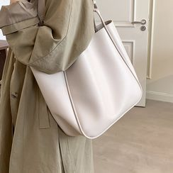 JAMEL - Faux Leather Tote Bag