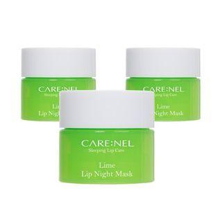 CARE:NEL - Lime Lip Night Mask Set