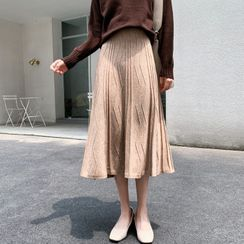 Lady Jean - Knit Semi Skirt