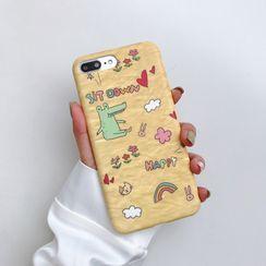Wild Pony - 鳄鱼印花手机保护壳 - iPhone 11 Pro Max / 11 Pro / 11 / XS Max / XS / XR / X / 8 / 8 Plus / 7 / 7 Plus / 6s / 6s Plus