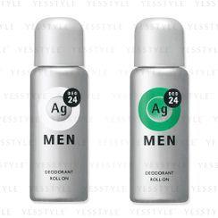 Shiseido - Ag Deo 24 Men Deodorant Roll On 60ml - 2 Types